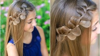 Repeat youtube video Rick Rack Braid | Cute Girls Hairstyles