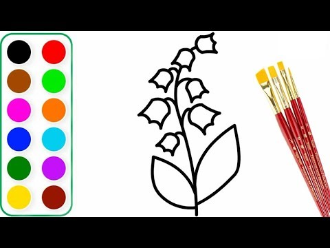 how-to-draw-flower- -flower-coloring-pages-for-kids-learn-color-step-by-step