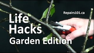 Life Hacks - Garden Edition - Top 10 +