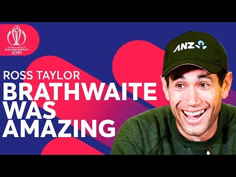 Ross Taylor on What He Told Carlos Brathwaite After THAT Innings! | ICC Cricker World Cup 2019
