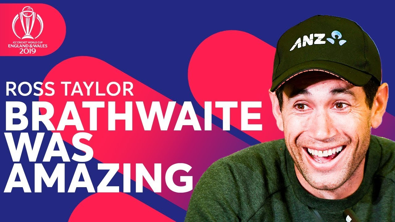 Ross Taylor on What He Told Carlos Brathwaite After THAT Innings! | ICC Cricket World Cup 2019