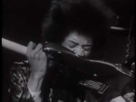 Jimi Hendrix  Purple Haze  Live  lyrics