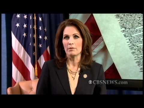 Bachmann Blasts Obama In Tea Party Response
