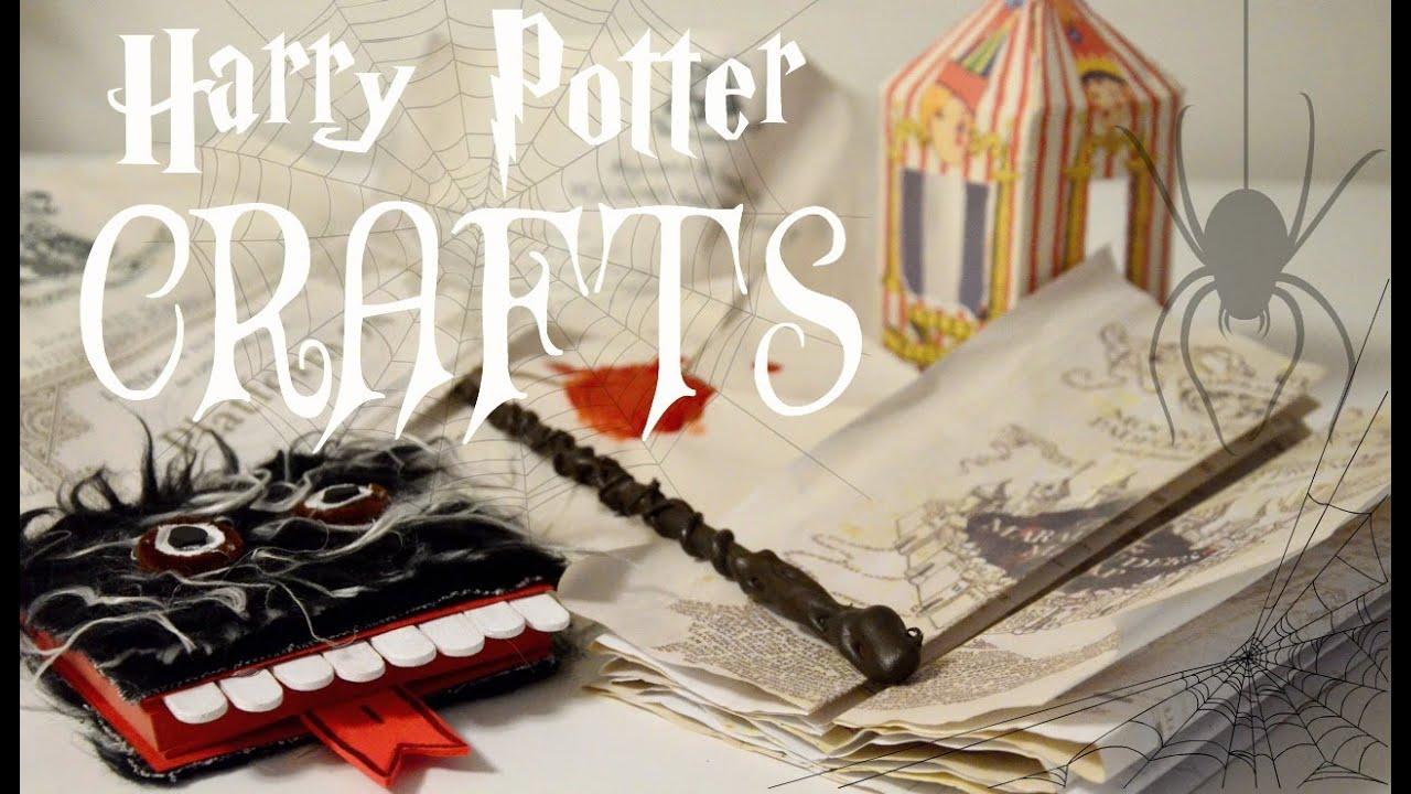 Good Harry Potter Craft Ideas For Kids Part - 5: ???u20d2u20d8 DIY HARRY POTTER CRAFTS ?u20d2u20d8?? || Adela - YouTube