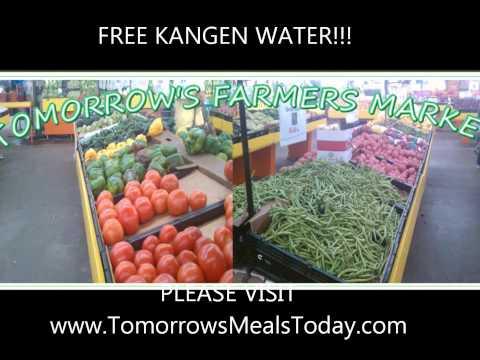 FREE KANGEN WATER @ Tomorrow's Meals Today Farmers Market in Austin Tx