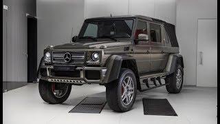 Уникальный «Гелендваген» продают в Москве за 85 млн рублей
