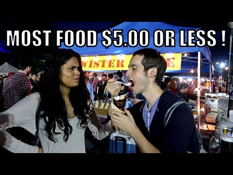 NEW YORK'S FOODIE HAVEN? 🌮 (Queens Night Market)