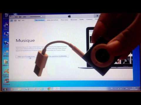 Mettre des musiques sur un iPod shuffle