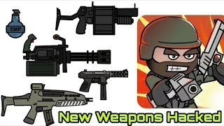 Mini Militia v3.0.136 New Guns hacked latest MOD (Everything is Unlimited) 2017