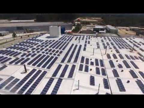 Photovoltaic power plant on roof - 998 kWp - Vagos - Portugal