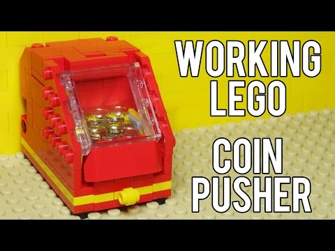 How To Build A Working Lego Coin Pusher Machine