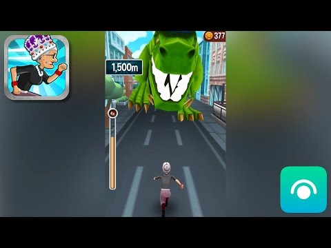 Angry Gran Run - Gameplay Trailer (iOS)