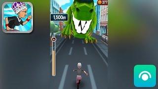 Angry Gran Run - Gameplay Trailer (iOS) screenshot 2