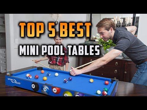 Best Mini Pool Tables