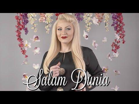 SALAM DUNIA by CASSIDY LA CREME  [M Nasir] (Mat saleh nyanyi Lagu Raya)