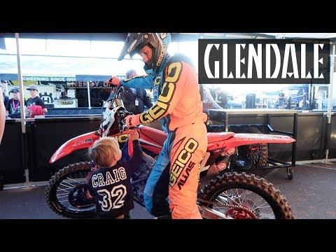 Life of Jagger at SX | Glendale Vlog 2018