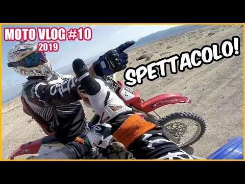 Enduro Tour in Lanzarate with a Yamaha Wr 450 F
