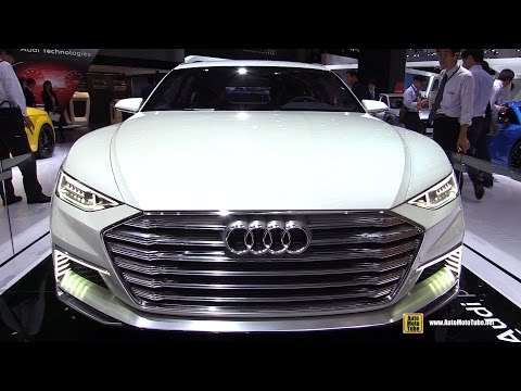 Audi Prologue Concept - Exterior Walkaround - 2015 Tokyo Motor Show