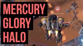 War Robots Mercury Glory Halo