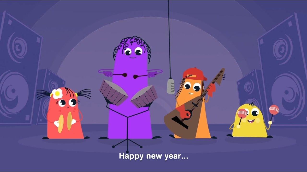 Happy New Year Kartun 86