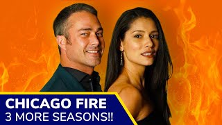CHICAGO FIRE is renewed for SEASON 9 and TWO MORE Seasons, NBC confirms!!