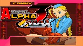 Street Fighter Alpha 3 MAX - Cammy White Arcade Playthrough