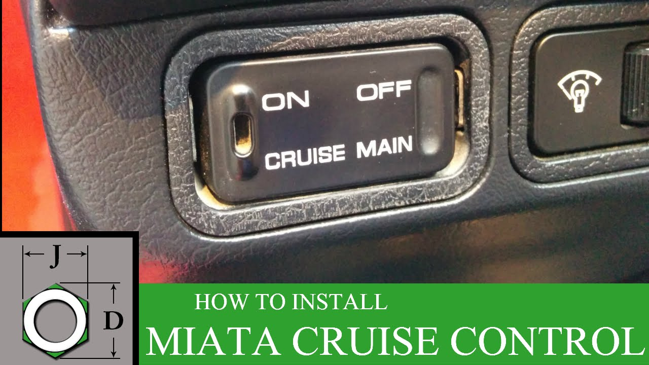 how to install factory cruise control on na miata youtube rh youtube com na miata fuse box diagram Mazda Miata Fuse Box Location