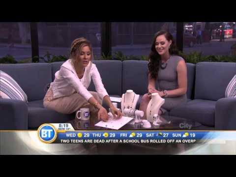 Olympic skater Tessa Virtue promotes new line on The Shopping Channel