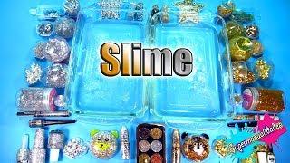 Mezclando todo Dorado vs Plateado en Slime - Supermanualidades
