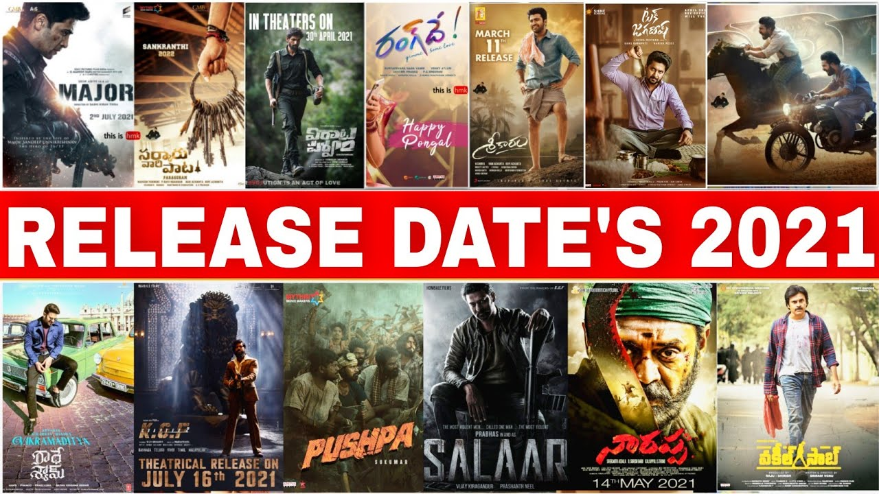 Upcoming Tollywood Movies Of 20   Release Dates Upcoming Movies List    New telugu Movies 20