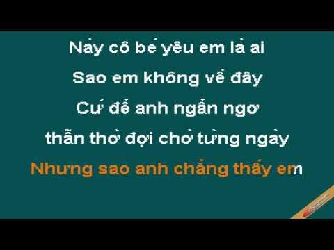 Chay Theo Co Be Yeu Karaoke - Lưu Chí Vỹ - CaoCuongPro