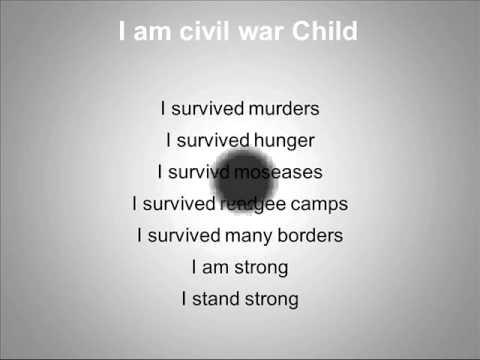 Short Somali English poem made from the prospective of youg refu ...