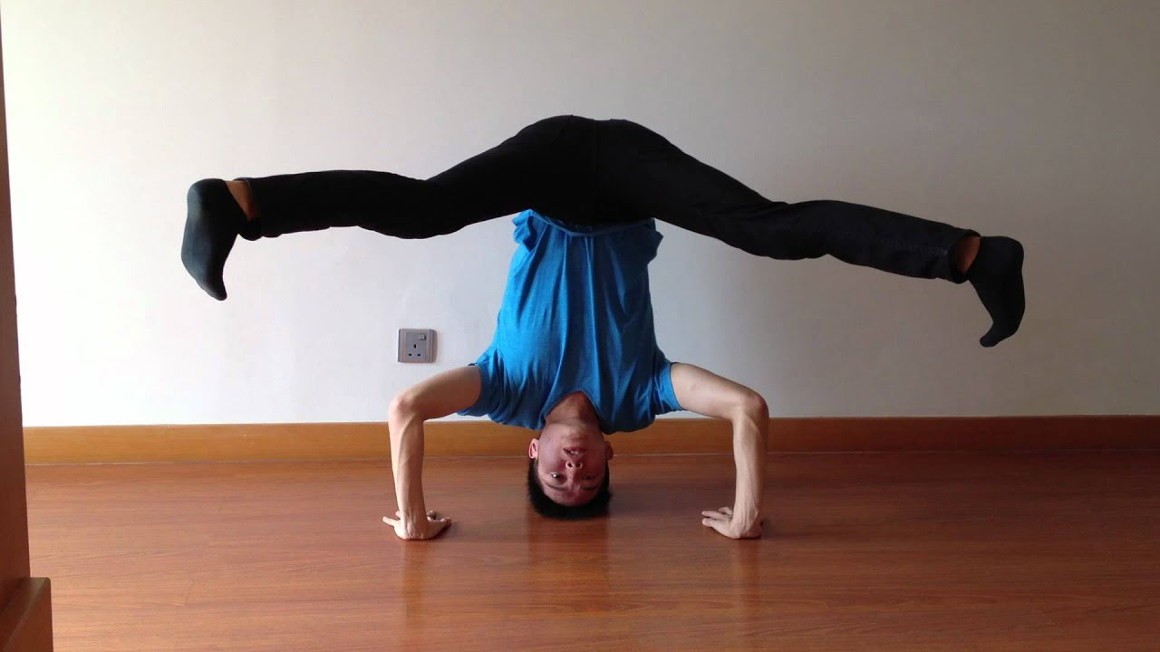 How To Do a Headstand - Breakdance Tutorial - YouTube