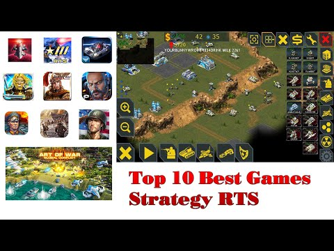 Top 10 Best Games Strategy RTS For Android 2019 Offline / Online