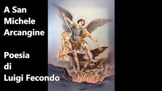 A San Michele Arcangile poesia dialettale abruzzese di Luigi Fecondo - Città di Vasto