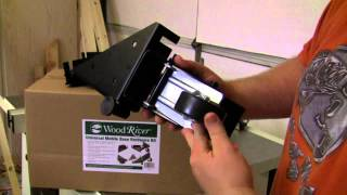Woodcraft's Woodriver Mobile Base For Jet Table Saw And Jointer