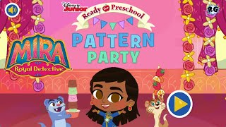 Mira: Royal detective - Pattern Party - Fiesta de Patrones / colores - Disney Junior