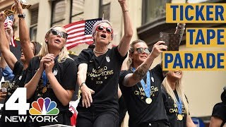 World Cup Parade 2019: See The USWNT Head into NYC's Canyon of Heroes | NBC New York