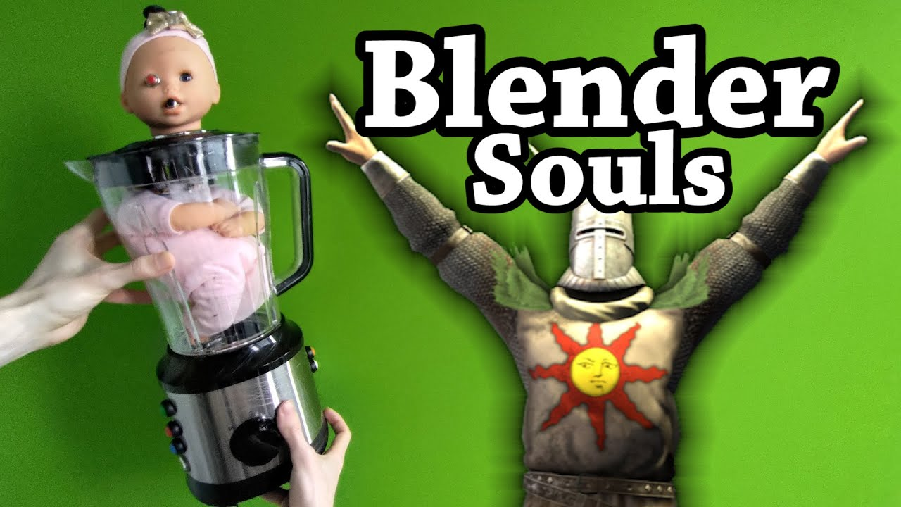 Download I Played Dark Souls with a Baby in a Blender