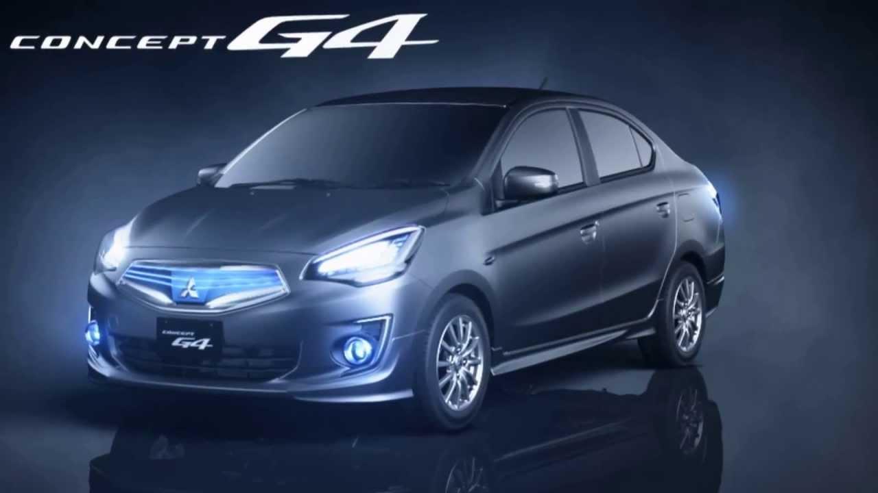 Mitsubishi Concept G4 - YouTube