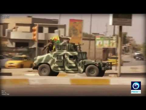 Video Shows Iraqi & Kurdish Forces Clash In Kirkuk