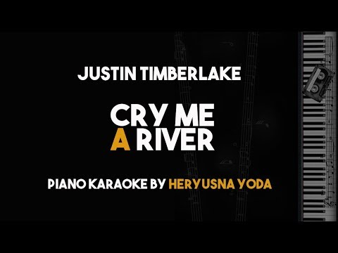 Cry Me A River - Justin Timberlake (Piano Karaoke with Lyric)