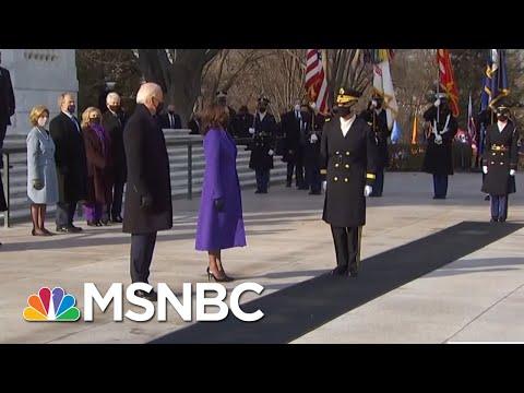 President Biden, Former Presidents Lay A Wreath At Arlington National Cemetery   MSNBC