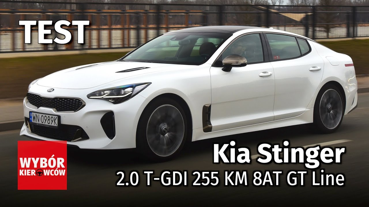 kia stinger 2 0 t gdi 255 km 8at gt line motor test pl recenzja opinie po polsku youtube. Black Bedroom Furniture Sets. Home Design Ideas