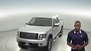 A97369PT - Used, 2012, Ford F-150, XL, 4WD, Silver, Crew Cab, Test Drive, Review, For Sale -