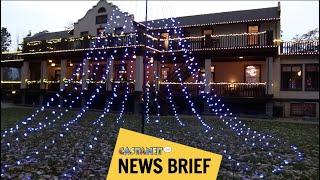 Naramata Inn lights up