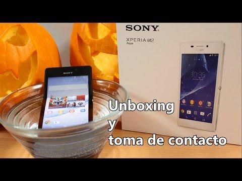 Sony Xperia M2 Aqua, Unboxing y toma de contacto