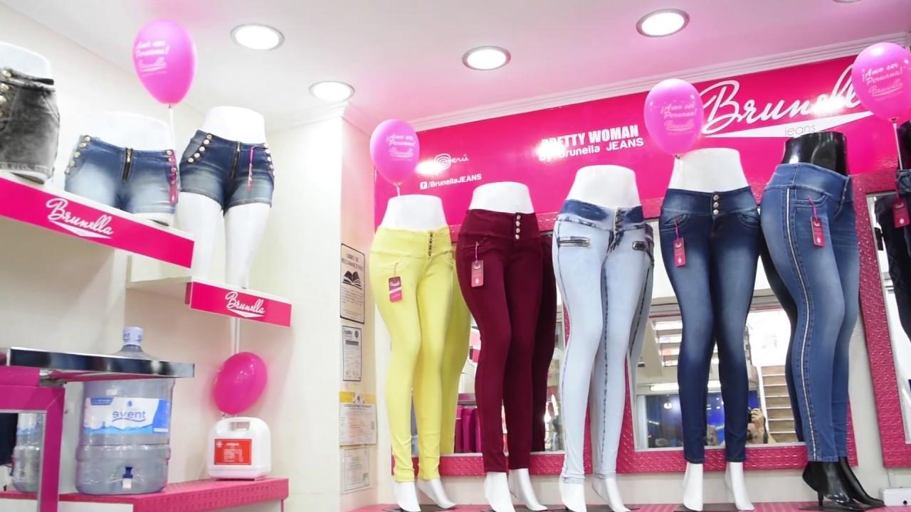 b4e1ff081e49 Gamarra - Tienda Brunella Jeans en Gamarra Tv - Moda 2018 - Tiendas de ropa  en Gamarra