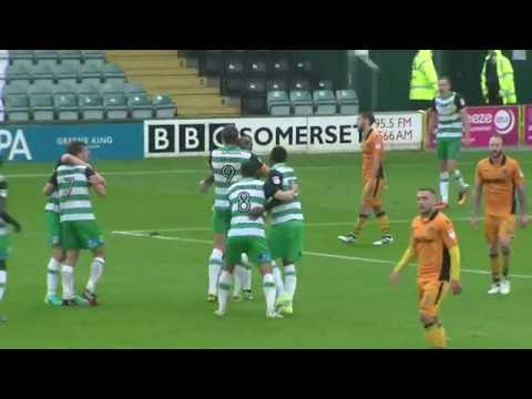 HIGHLIGHTS: YEOVIL TOWN v NEWPORT COUNTY