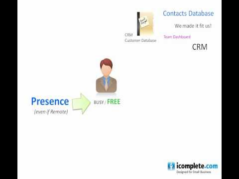 CRM and VoIP telecoms business application for SME's